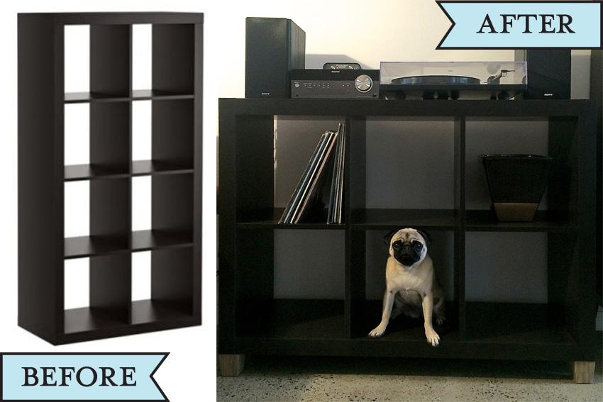 Ikea Hacks Expedit ikea hack expedit shelves hardly handy