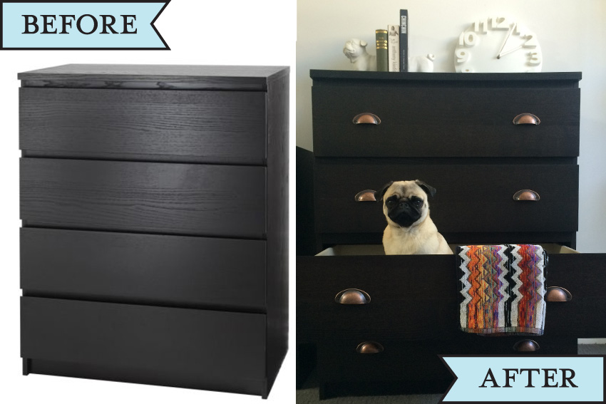 Ikea Hack Malm Drawers Hardly Handy